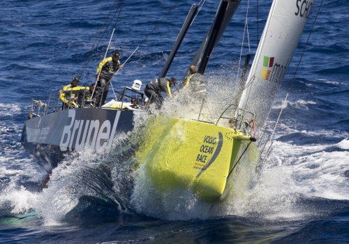 Finish Volvo Ocean Race