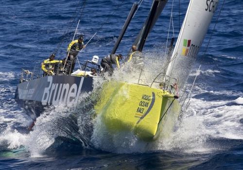 Finish Volvo Ocean Race